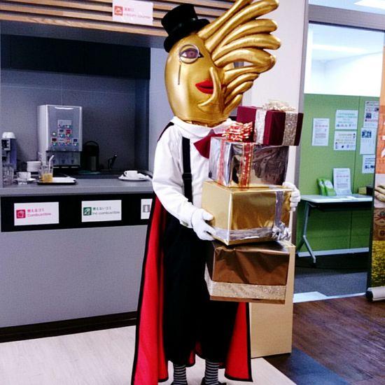 むかわ町のシスト男爵(・ω・)。 Hokkaido,Japan Mascot Characters Of JAPAN ご当地キャラ