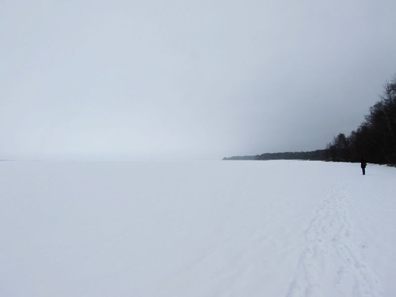 Fog Outdoors Lake Cold Temperature Nature Beauty In Nature Storm Cloud No People Day Water Ice Age Ladoga Lake Lakeview Lakeshore Lake View Ice Rink Beauty In Nature Scenics Landscape Snow Nature Ice Frozen Winter Snowing