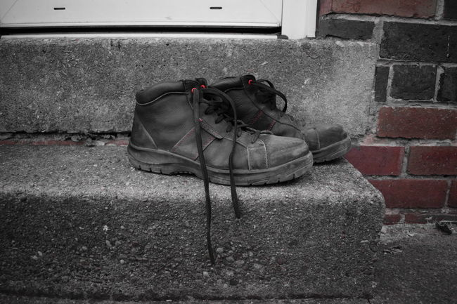 Boots Close-up Dad Daddy Day Door Step Everyday Life Everyday Lives EyeEmNewHere Fathersday Happy Father's Day Hard Work Home Long Day Male No People Outdoors Shoes Thanks Dad  Tired Worker Workers Boots Working Hard Worn Worn Out EyeEmNewHere