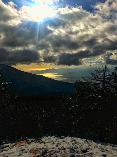 Cloud - Sky Sky Mountain Landscape Sunlight Outdoors No People