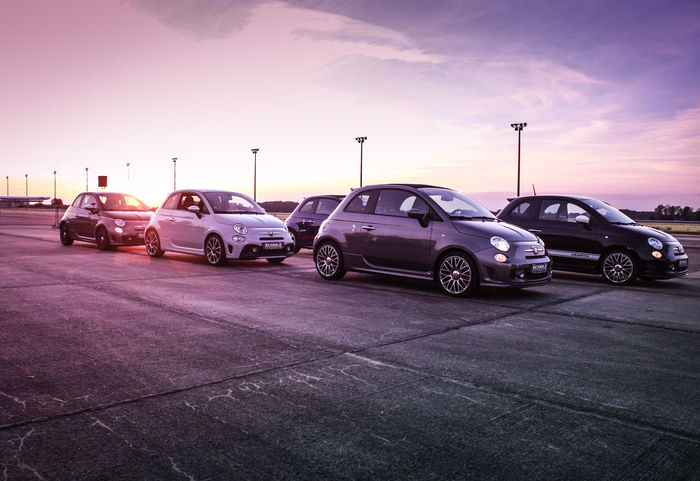 #abarth #adrenaline #Airport #fiat #fiat500 #motorsport #performance #race #racecar #raceday #Tuning Car Cloud - Sky Fiat595 No People Sky Sunset EyeEmNewHere