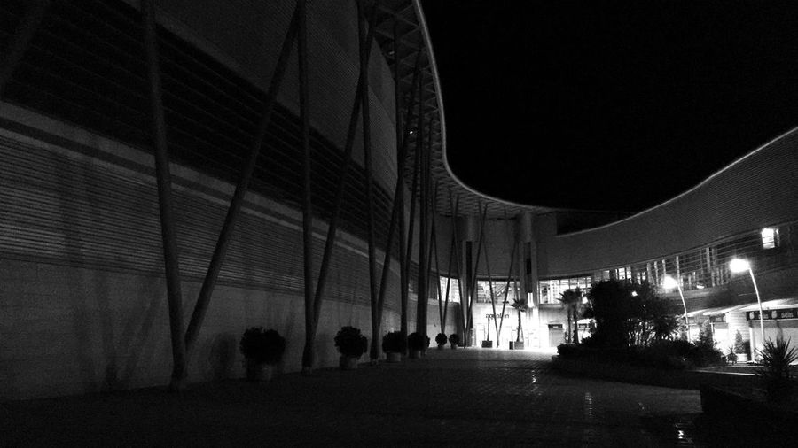 Outdoors Motorola Moto G 2nd Gen B&w Architecture Night View Huelva