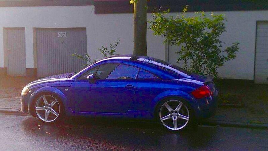 Sportcar Blue Audi Audi TT 225 Audi TT Audi TT RS