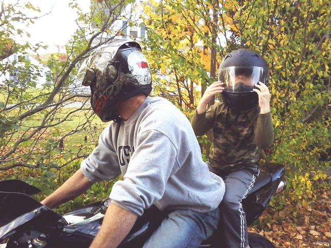 Sitting Tree Leisure Activity Outdoors Lifestyles Person Day Growth Full Length Real People Horizontal Baseball Cap Adult People One Person Nature Only Men Fatherandson Father Fatherhood Moments Fresh On Eyeem  Helmet Massachusetts Uxbridge Family