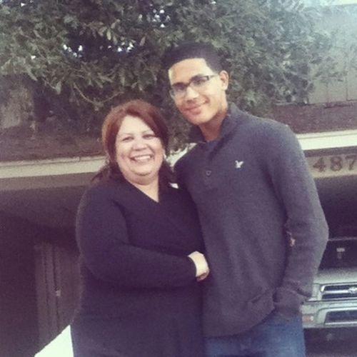 Kristal's Mom (Maria) And I