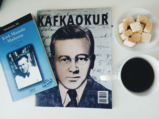 12.09.15 16:22 Kafkaokur Sabahattinali Kürk Mantolu Madonna Coffee Turkishcoffee GoodTimes Lazzyday Books ♥ Kahve Kitap