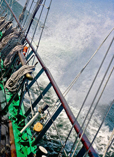 Spindrift Tall Ships Belaying Rail Rail Sailing Sea Spray Tall Ship Details