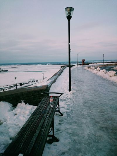 зимняя Набережная Winter зима Russia россия Blue