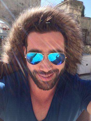 Dayout Sun Blue Rayban Happy Peace Love Selfie