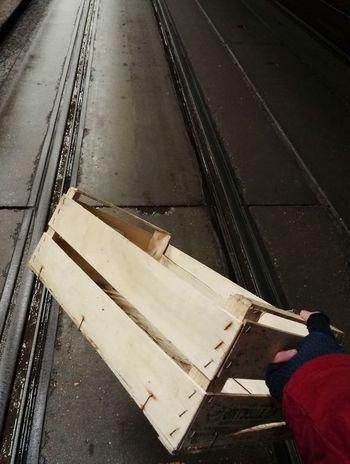 In the night Box Wood Hand Night HUAWEI Photo Award: After Dark Close-up Railroad Station Platform Railroad Platform