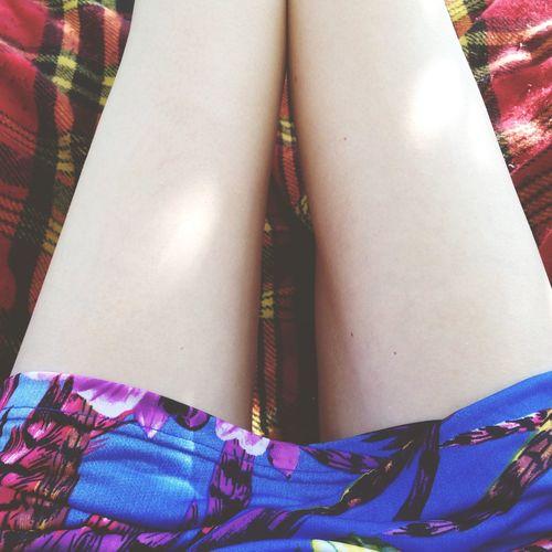 Summer Pale Skin Enjoying Life Legs ThatsMe