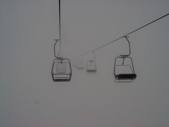 Day Elevator Fog Hanging Nature No People NOthIng Outdoors Overhead Cable Car Ski Ski Lift Sports Winter