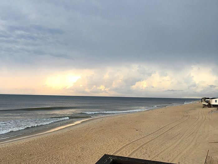 WellHelloSunshine OBX Beach Life Beachy Saltlife Sky And Clouds