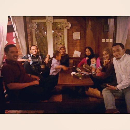 With wifey's fam at Lisung Bandung Dago pakar