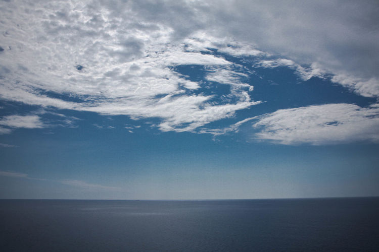 Beauty In Nature Cloud - Sky Cloud And Sky Clouds And Sky Day Horizon Over Water Nature No People Outdoors Scenics Sea Sky Tranquil Scene Tranquility Water