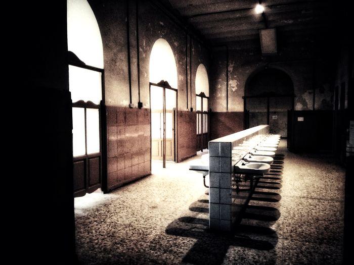 Frozen in time. Forgotten Architecture Abandoned Buildings Abandoned Places Assylum