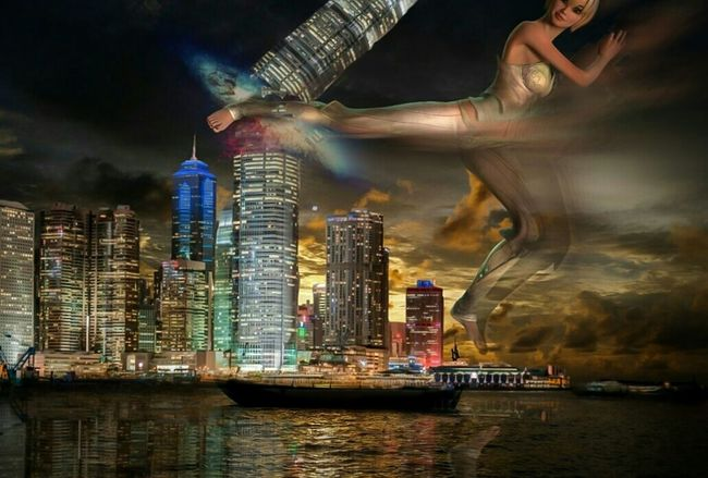 F that building. Fairytales & Dreams Not Strange To Me Reflection Digital Art Creative Power Twisted Dream Heroes & Villains Dark Fairytale Mind The Mind Visual Poetry
