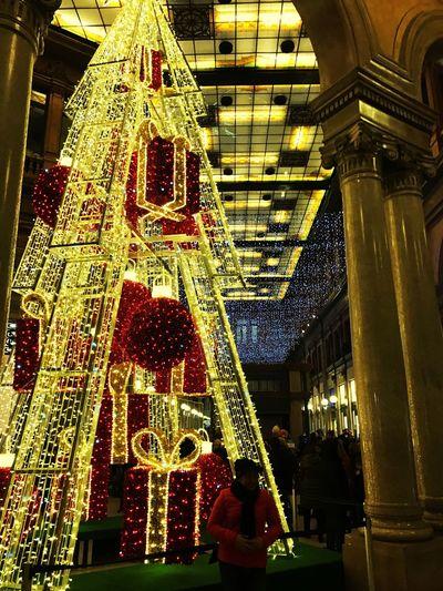 Illuminated Shopping Mall