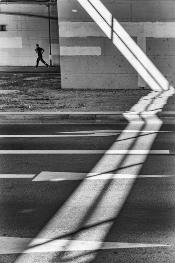 Running Black & White Frankfurt Light Running Shadow And Light Blackandwhite Runner Shadow Sport Streetphoto_bw Streetphotography EyeEmNewHere EyeEm Ready   The Graphic City The Street Photographer - 2018 EyeEm Awards The Street Photographer - 2018 EyeEm Awards
