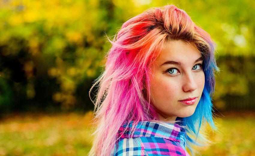 Pink Hair Dyed Hair Headshot Pink Hair Portrait Punk - Person Real People Looking At Camera Young Adult Young Women Lifestyles Multi Colored color First Eyeem Photo The Portraitist - 2017 EyeEm Awards The Portraitist - 2018 EyeEm Awards EyeEmNewHere