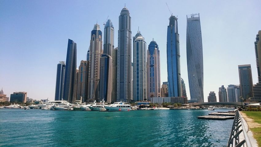 The Marina Dubai Dubai Marina Yatchs Dubaicity Cityscapes_collection Cityscapes Travel Diaries Travel Photography Travelingtheworld  Middle East Mobility In Mega Cities