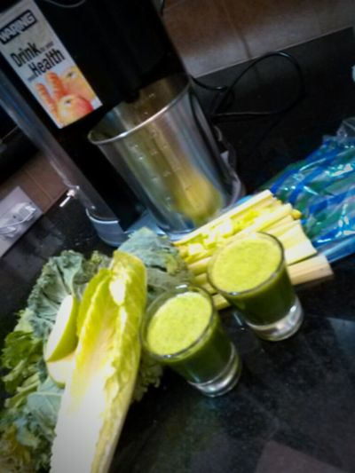 My Favorite Breakfast Moment Juicing Greens Kale Blazer Way To Start A Morning Breakfast Of Champions Energyboost Celeryjuice Shots Wheat Grass Healthy Living Humans Meets Technology The Color Of Technology