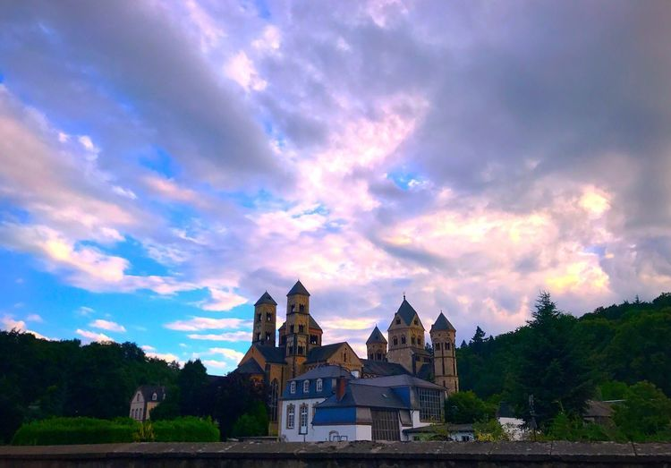 Built Structure Architecture Building Exterior Cloud - Sky Sky Religion Place Of Worship No People Spirituality Outdoors Sunset Travel Destinations Day Nature Tree in Germany🇩🇪 Germany GERMANY🇩🇪DEUTSCHERLAND@ Lost In The Landscape