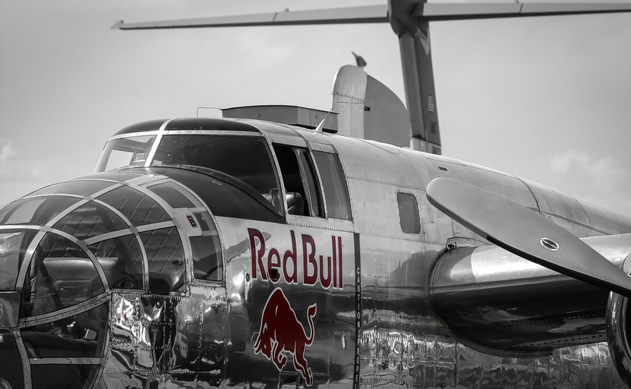 the red one ... Abundance Aeroplane Aircraft Arrangement Berlin Collection Detail Flugzeug Ila Keycolor Large Group Of Objects No People Old One Color Plane Propeller Red Bull Reflection Rot Turboprop Krull&Krull Images Colorkey
