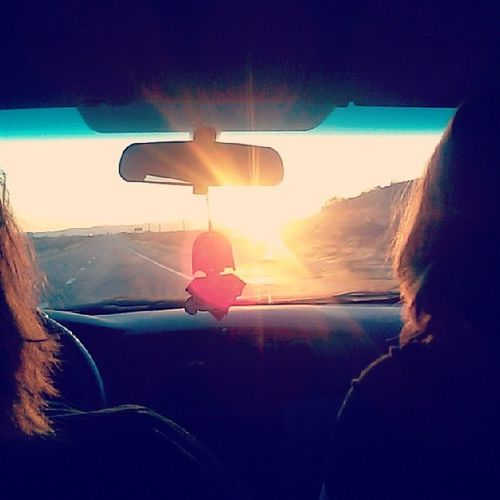On the road! Sunrise Roadtripin HappyFriday ! Texasbound