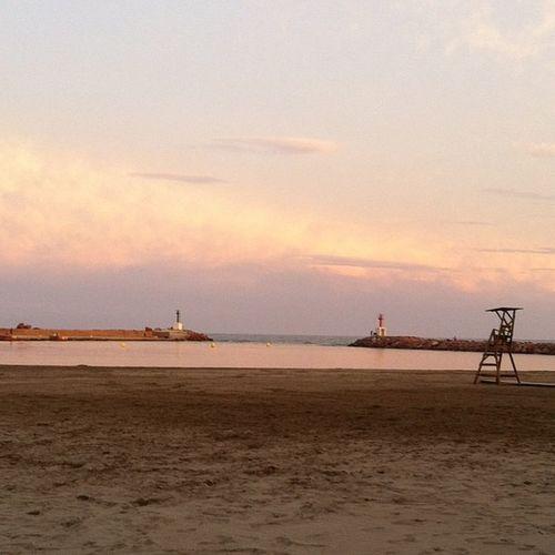Beach Sunset València SPAIN Love Alone Picture Playa Pobladefarnals