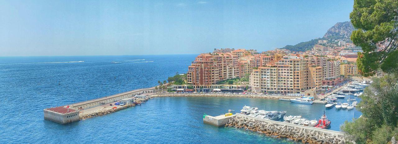 Monaco Blue Sky Sea