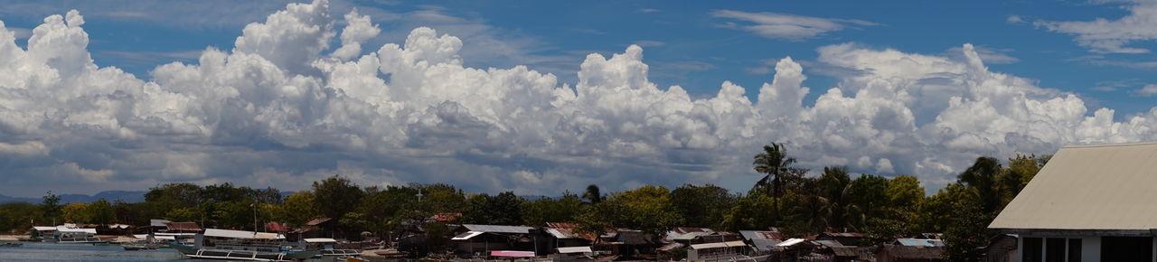 Village Architecture Building Exterior Built Structure Cloud - Sky Day Landscape Nature No People Outdoors Sky Tree