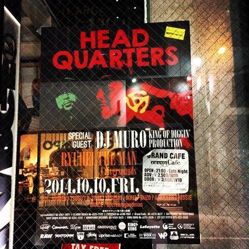 行きたいなー。 #kingofdiggin#muro#grandcafe#dj#心斎橋