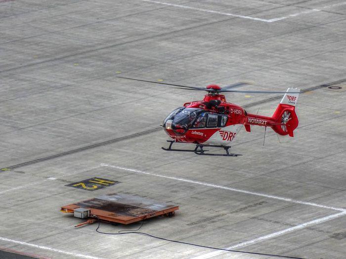 Christoph 27 / DRF - Deutsche Rettungsflugwacht Air Vehicle Aircraft Airplane Christoph 27 Drf Eurocopter Helicopter Sony Dsc Hx400v