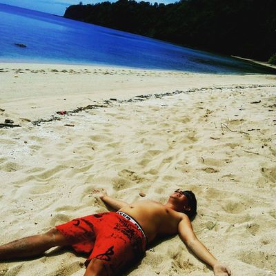 Smell the sea , feel the sand Beachlife Beach BeautifulIndonesia Sulawesiutara beautifulview
