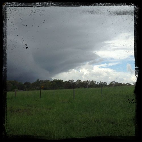 On my way out had to stop and take this with my phone!! It was one wet day!! #cloudporn #storm #rain #wet