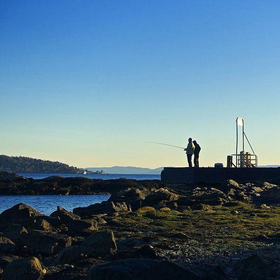 Fisking og lavvann på Huk i Oslo Huk Bygdøy Oslo Stakkarsoss Norvège  Norway Sea Oslo Norway