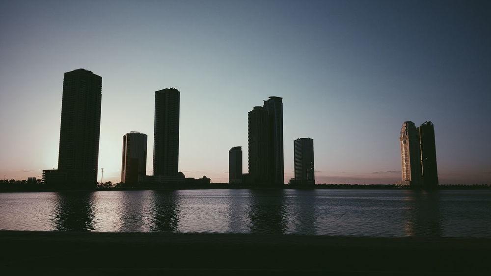 Sharjah Architecture City Built Structure Building Exterior Tower Sky Dubai Sharjah