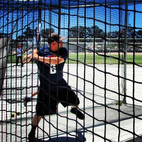 Battingpractice Softball Slowpitchsoftball Battingcage
