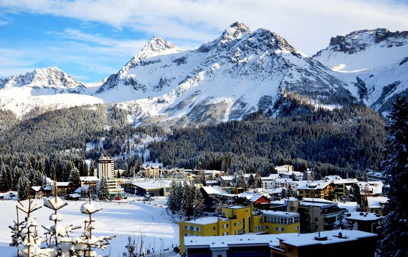 Adventure Cold Cold Temperature Community Composition Covering Frozen Human Settlement Landscape Mountain Mountain Range Overhead View Perspective Season  Snow Snow Covered Snowcapped Snowcapped Mountain Top Perspective Weather White Winter