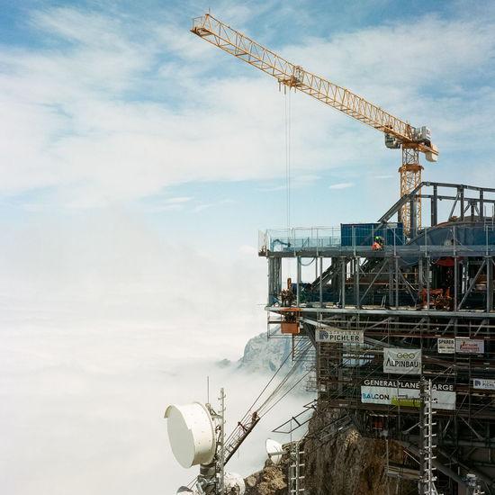 Zugspitze under