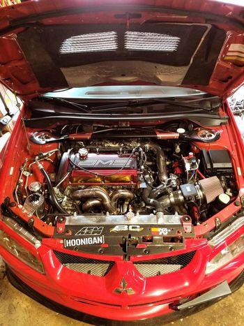 Mitsubishi Evo Evo8 4g63t AWD  Awdarmy Doingitonallfours 796hp Boostfactory Close-up