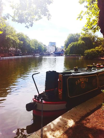 Little Venice Water River No People Tree Architecture Nautical Vessel City Outdoors Day Cityscape Urban Skyline Sky