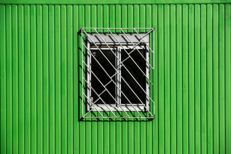 Window On A Green Building