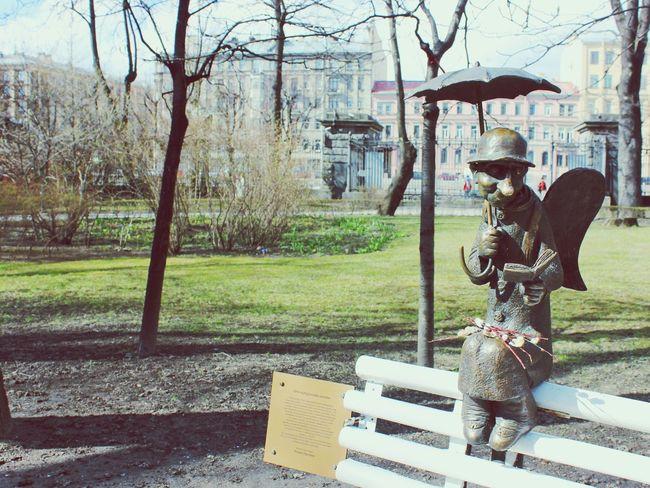 "🇷🇺 St. Petersburg ( Apr. 2016 ) ""петербургский ангел"" Россия Санкт-Петербург Russia Saint Petersburg Traveling памятник ангел"