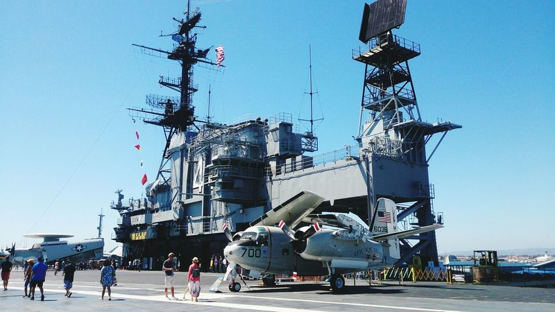 USS Midway  Sandiego People Day Outdoors Sky Adult Adults Only Ice Rink Only Men