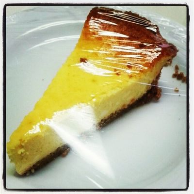Key Lime Pie or so we're told. Instagram Instafood Nursinghome Instapic Instadaily Food Instafood Pie Instapie