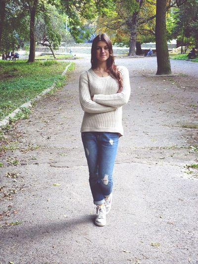 Walking Around Relaxing Enjoying Life