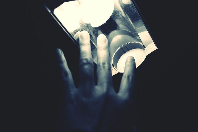 Mi luz Photography Light Hand Monochrome