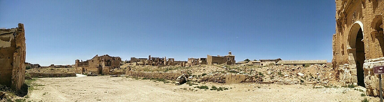 Panorama Ruins Belchite